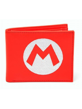 Cartera Super Mario Bordado