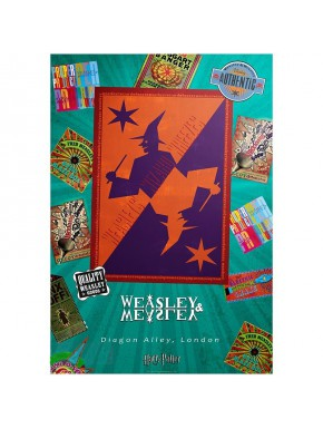 Poster Harry Potter Weasley Shop
