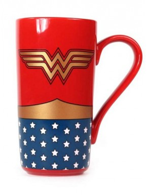 Taza Wonder Woman Latte DC Comics