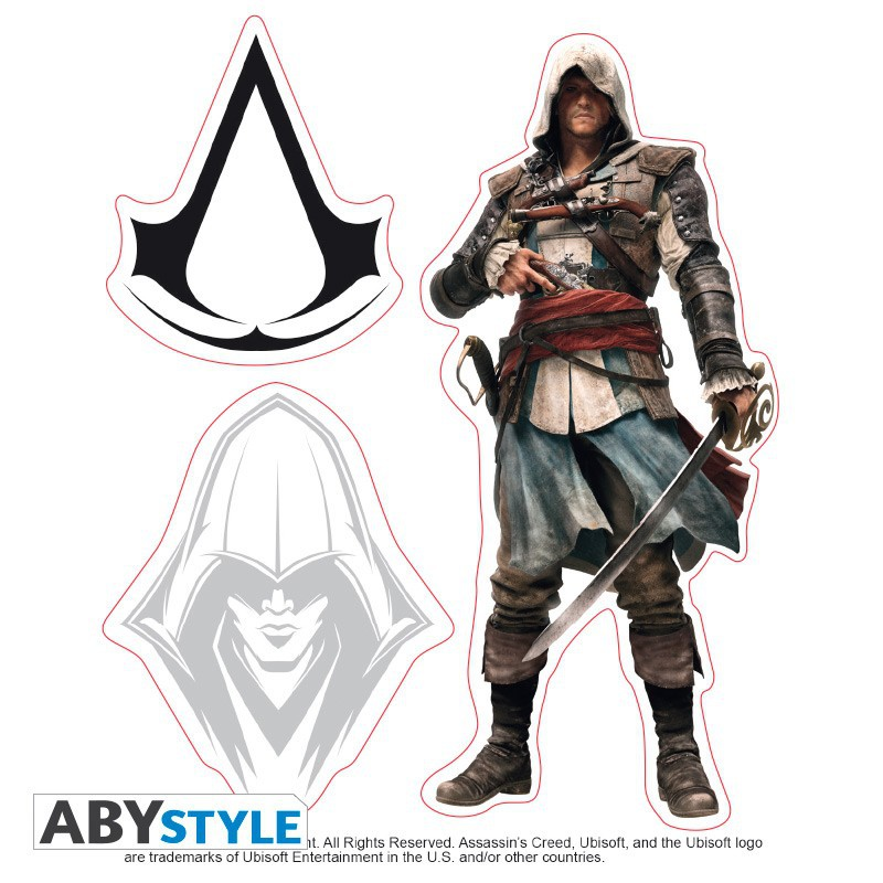 Set de Pegatinas Assassin's Creed solo 6.5€ - lafrikileria.com