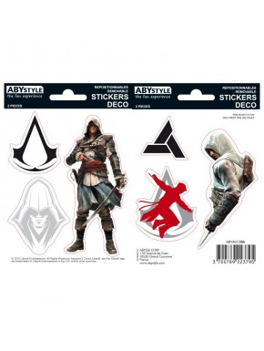 Set pegatinas Assassin's Creed x2