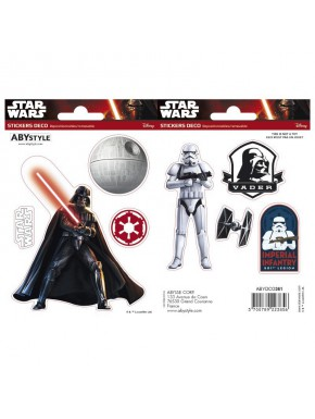 Set pegatinas Star Wars x2