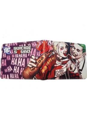 Cartera Joker y Harley Quinn Escuadrón Suicida