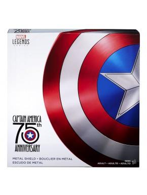 Escudo Capitán América réplica 1:1 metal