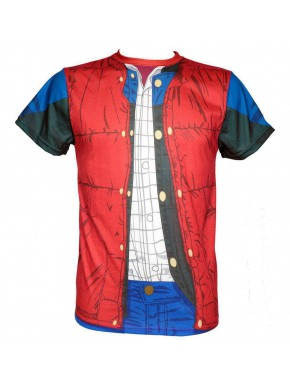 Camiseta Cosplay Regreso al Futuro Marty McFly