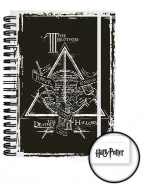 Libreta Harry Potter Reliquias