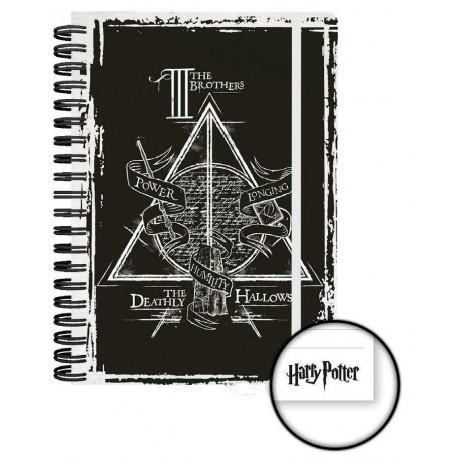 Libreta Cuaderno Harry Potter Reliquias Solo 990 Lafrikileriacom
