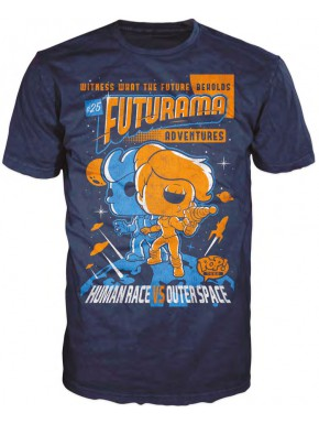 Camiseta Funko Pop Futurama Poster