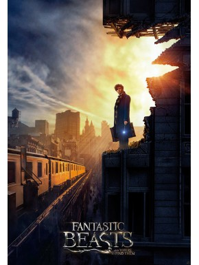 Poster Grande Animales Fantasticos New York