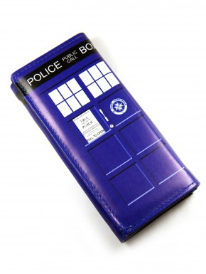 Cartera billetera Doctor Who Tardis