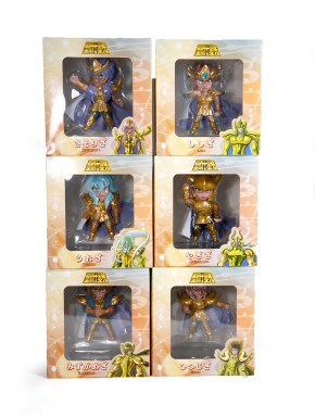 Set de figuras Caballeros del Zodiaco