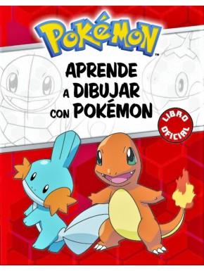 Libro Aprende A Dibujar Con Pokémon