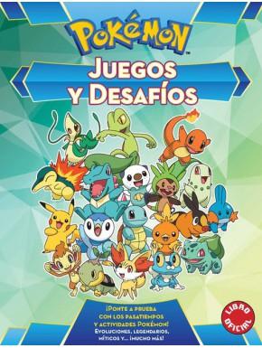 Libro Juegos y Desafíos Pokémon