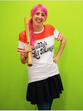 Camiseta Béisbol Harley Quinn Escuadrón Suicida