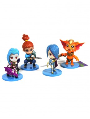 Pack League of Legends Yasuo Gnar Jinx Fiora