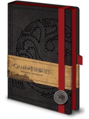 Juego de Tronos Libreta Premium A5 Targaryen