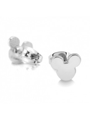 Pendientes oro blanco Mickey Mouse Disney