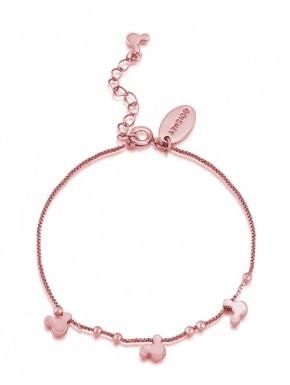Pulsera oro rosa Minnie Disney