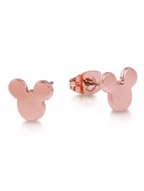 Pendientes oro rosa Mickey Mouse Disney