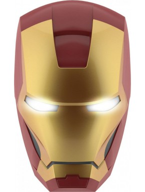Lámpara de pared LED Iron Man Casco