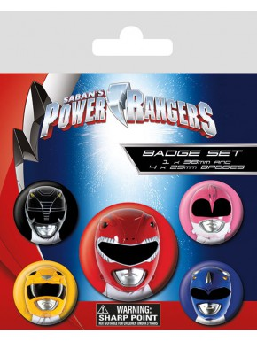 Chapas Power Rangers Cascos