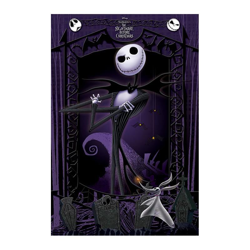 Poster Jack Pesadilla Antes De Navidad Solo 29.90