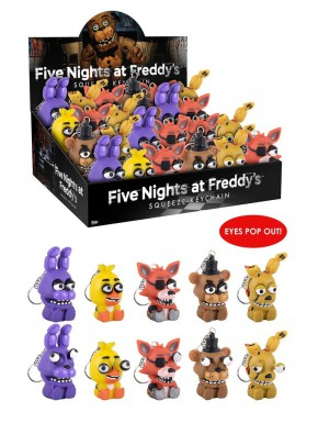 Llaveros Funko Squeeze Five Nights at Freddy's