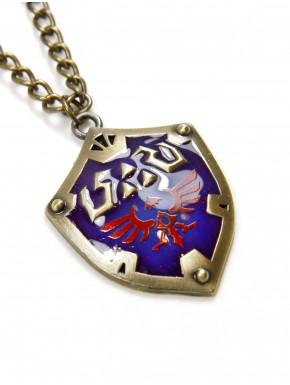 Colgante Zelda escudo Hyliano esmaltado