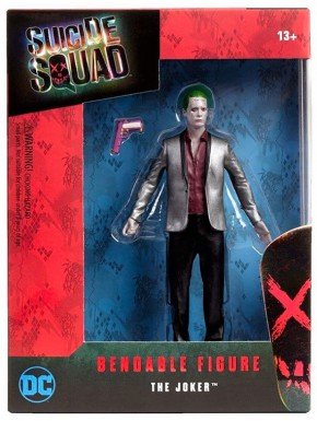 Figura maleable Joker Suicide Squad