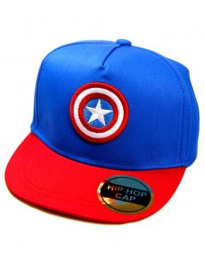 Gorra Niño Capitán América Escudo