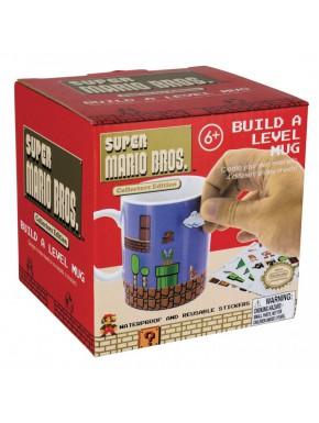 Taza Super Mario con pegatinas