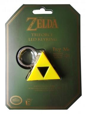 Llavero Trifuerza Iluminación y Sonido Zelda