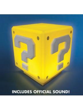 Lámpara Super Mario Interrogante con Sonido