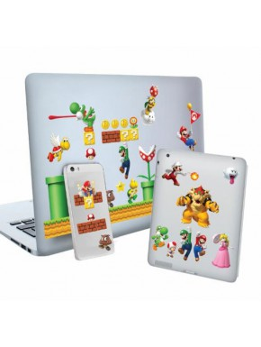 Set pegatinas Vinilo Super Mario