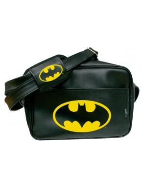 Bandolera Piel Sintética Batman logo