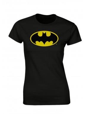 Camiseta Chica Logo Batman classic