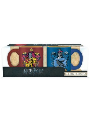 Set 2 mini tazas Gryffindor y Ravenclaw Harry Potter