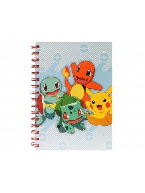 Libreta Pokémon Starters