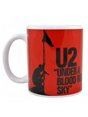 Taza U2 Under a blood red sky