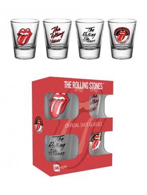 Vasos de chupito Rolling Stones