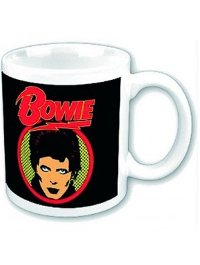 Taza David Bowie Flash Logo
