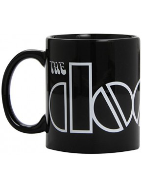 Taza The Doors Black Logo