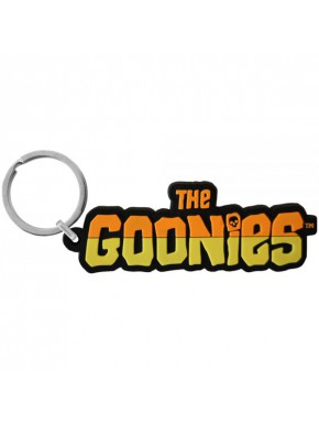 Llavero de caucho Goonies logo