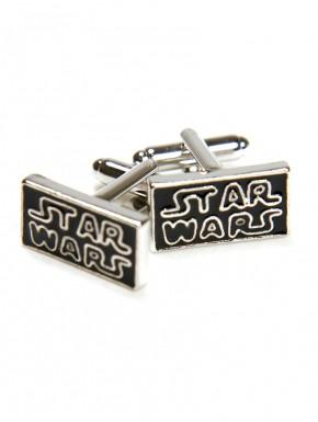 Gemelos Star Wars logo acero