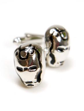 Gemelos acero Iron man