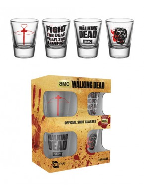 Vasos chupito Walking Dead