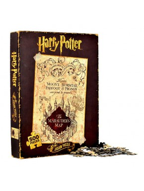 Harry Potter Puzzle Mapa Merodeador