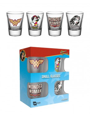 Vasos chupito Wonder Woman