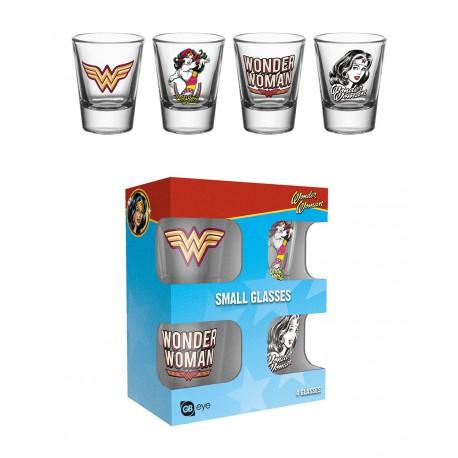 Vasos chupito Wonder Woman