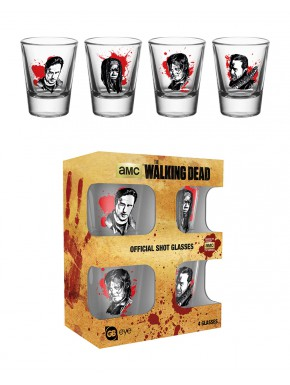 Vasos chupito Walking Dead Characters